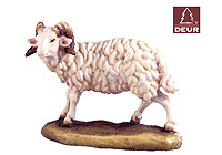 Farm Nativity Ram standing 3.54inch color