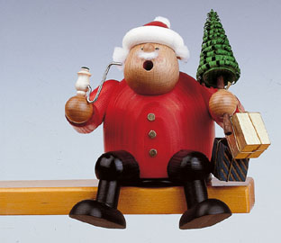 KWO Smoker Santa Claus 5.9 inches