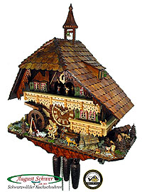 Cuckoo Clock of the Year 2008 - Gutach Valley Mill