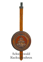 Cuckoo Clock Pendulum small Disc 7.28inch